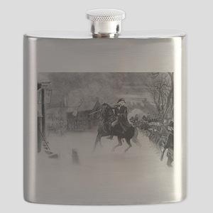 washington at trenton Flask