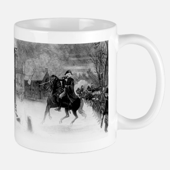 washington at trenton Mug