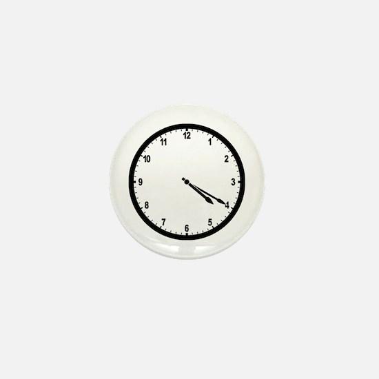 4:20 Clock Mini Button