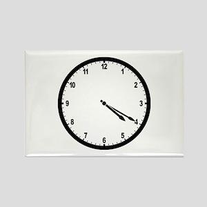 4:20 Clock Rectangle Magnet