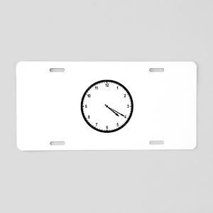 4:20 Clock Aluminum License Plate