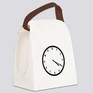4:20 Clock Canvas Lunch Bag