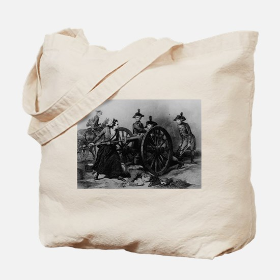 molly pitcher Tote Bag
