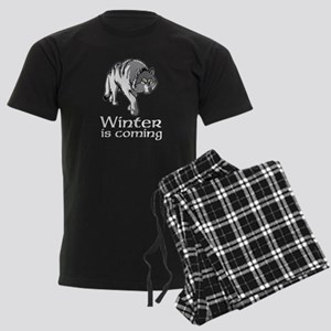 Winter Wolf Men's Dark Pajamas