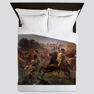 washington at monmouth Queen Duvet