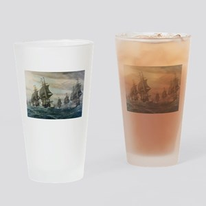 virginia capes Drinking Glass