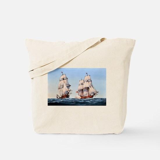 uss captain baron Tote Bag
