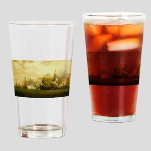 hms mediator Drinking Glass