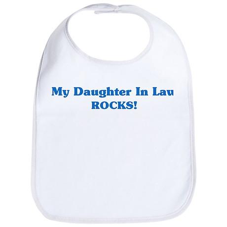 Daughter In Law Rocks Bib