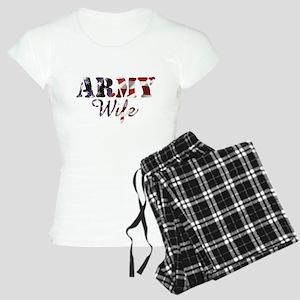 Army Wife American Flag Pajamas