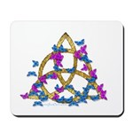 Butterfly Triquetra Mousepad