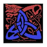 Celtic Dragon Tile Coaster