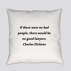 Lawyers Dickens Everyday Pillow