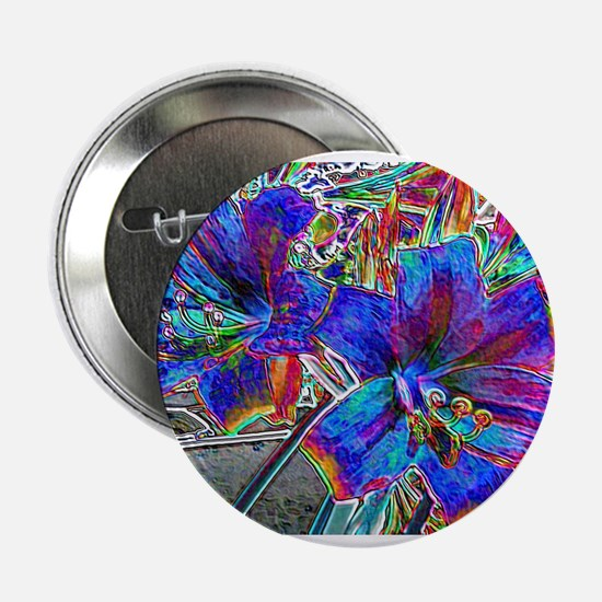 "Amaryllis Lilies 2.25"" Button"
