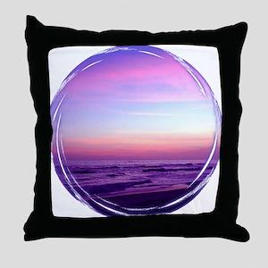 Streaked Sky Throw Pillow