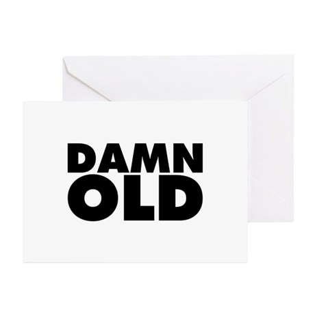 Damn Old Greeting Cards (Pk of 10)