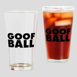 Goofball Drinking Glass
