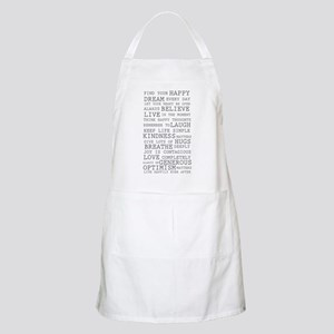 Positive Thoughts Apron