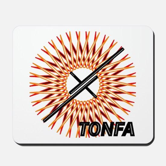 Martial Arts Tonfa Mousepad