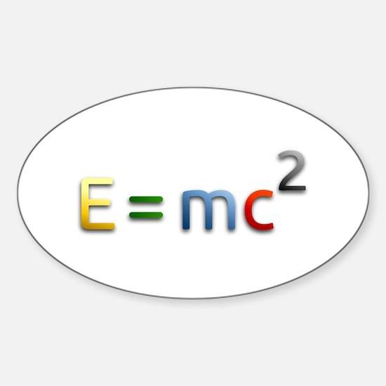 Einstein E=mc2 Decal