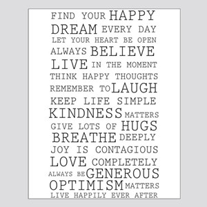Positive Thoughts Posters