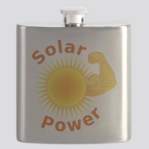 Solar Power Strong Arm Flask