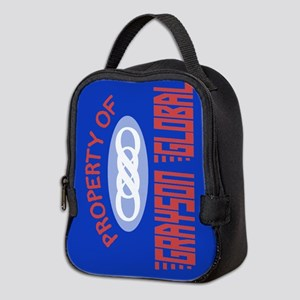 Property of Grayson Global Neoprene Lunch Bag