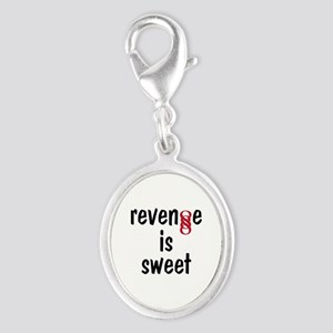 Double Infinity G Revenge is Sweet Silver Oval Cha