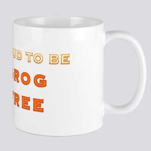 Proud to be grog free - new design Mug