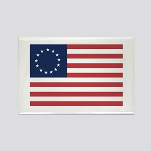 13 Star Colonial American Flag Rectangle Magnet