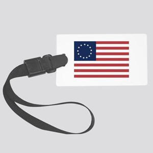 13 Star Colonial American Flag Luggage Tag