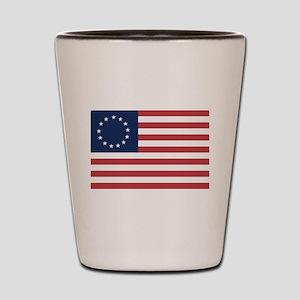 13 Star Colonial American Flag Shot Glass