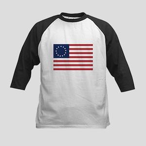 13 Star Colonial American Flag Baseball Jersey
