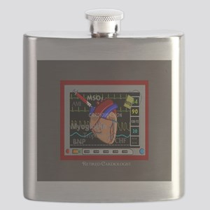 Retired Cardiologist Pillow 2 Flask