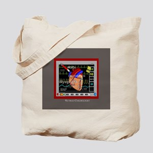 Retired Cardiologist Pillow 2 Tote Bag