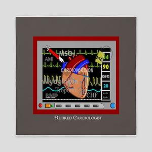 Retired Cardiologist Pillow 2 Queen Duvet