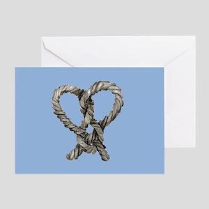 loveknot_13-5x18 Greeting Card