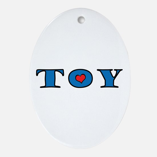 toy.gif Ornament (Oval)