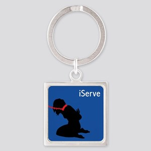 iServe-2 Keychains