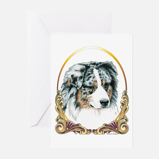 Merle Aussie Christmas/Holiday Greeting Cards (Pac