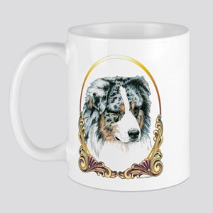Merle Aussie Christmas/Holiday Mug