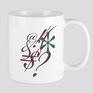 Punctuation Art Mug