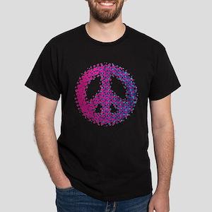 Halftone Peace Symbol T-Shirt