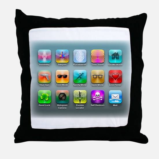 My Dream Apps Throw Pillow