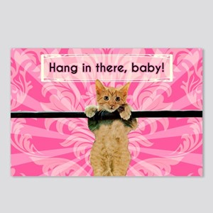 Hang In There Baby Kitten Postcards (Package of 8)