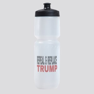 Repeal & Replace Trump Sports Bottle