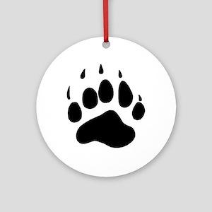 Bear Claw Ornament (Round)