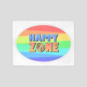 Happy Zone 5'x7'Area Rug