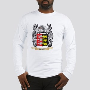 Grady Coat of Arms - Family Cr Long Sleeve T-Shirt