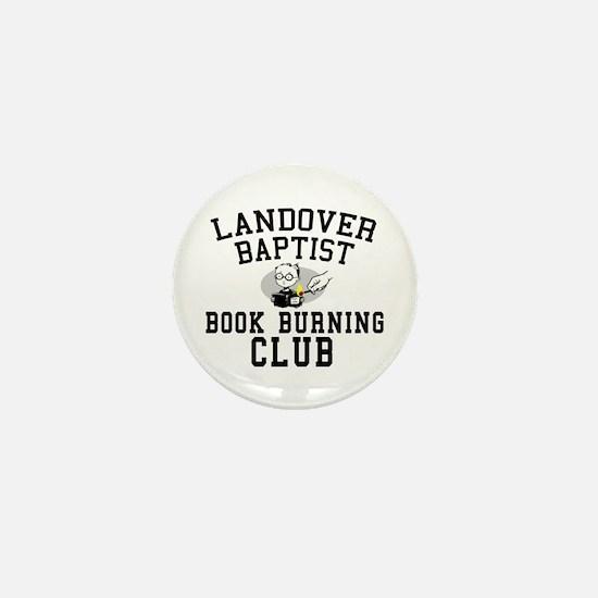 Book Burning 101 Mini Button